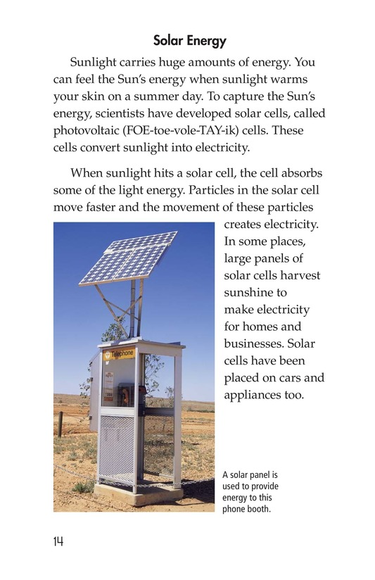 Book Preview For Energy Sources: The Pros and Cons Page 14