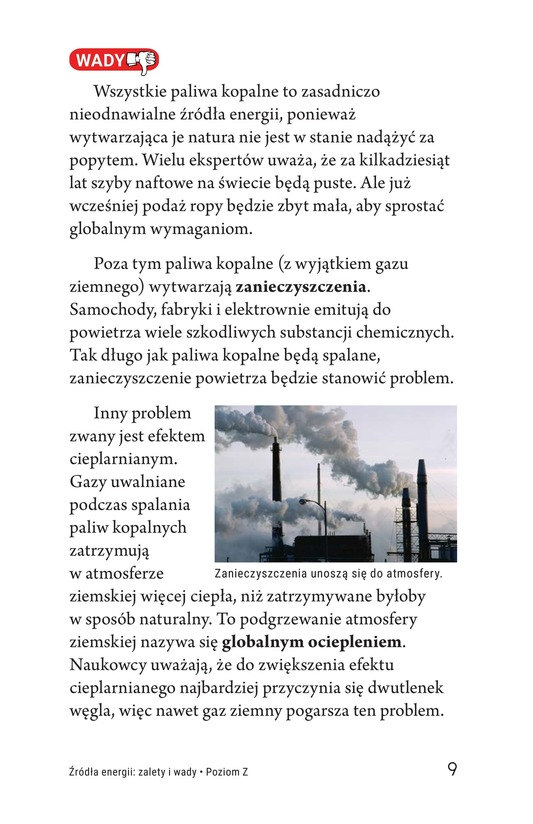 Book Preview For Energy Sources: The Pros and Cons Page 9