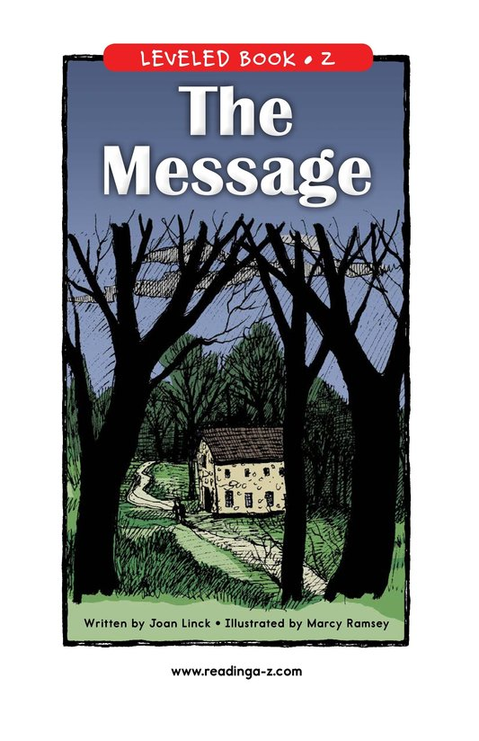 Book Preview For The Message Page 1