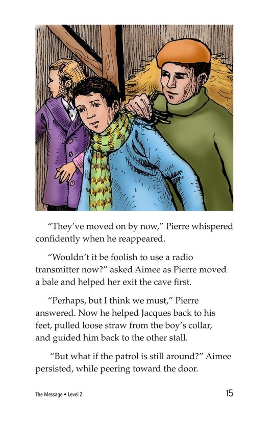 Book Preview For The Message Page 15