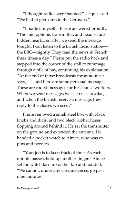 Book Preview For The Message Page 17