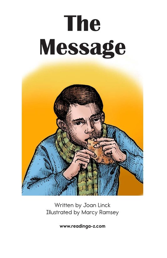 Book Preview For The Message Page 2
