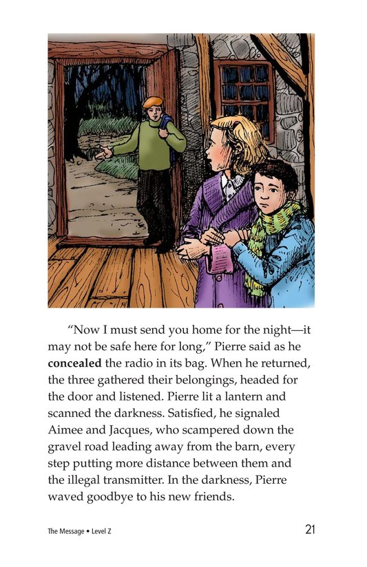 Book Preview For The Message Page 21