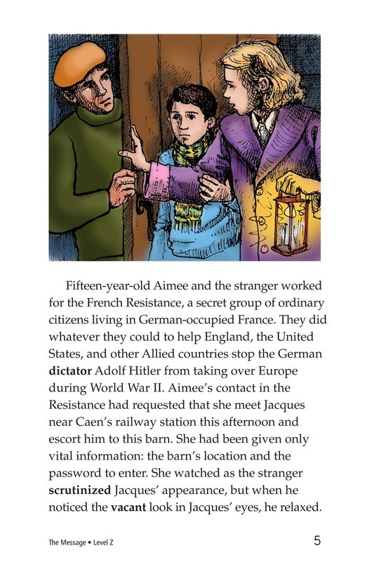 Book Preview For The Message Page 5
