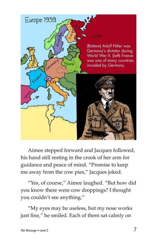 Book Preview For The Message Page 7