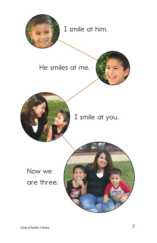 Book Preview For Circle of Smiles Page 7