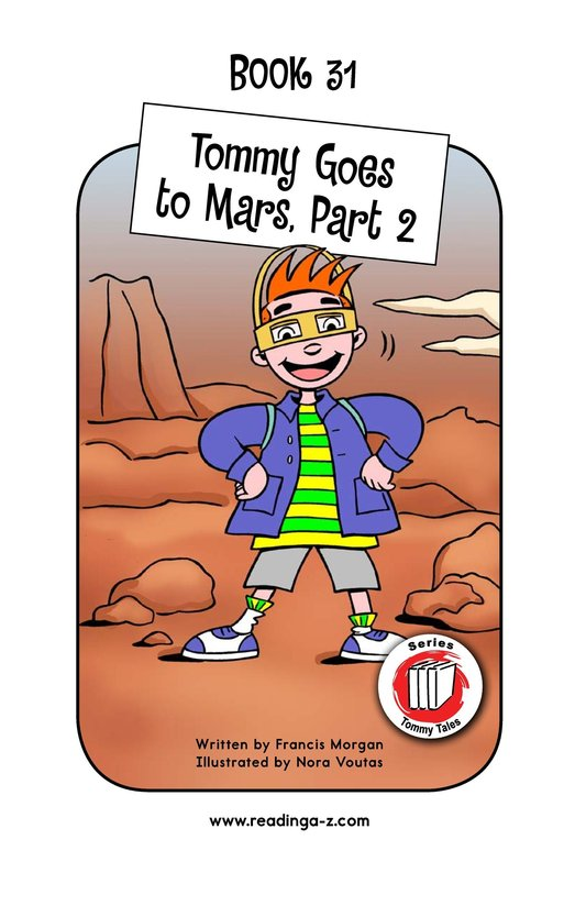 Book Preview For Tommy Goes to Mars (Part 2) Page 1