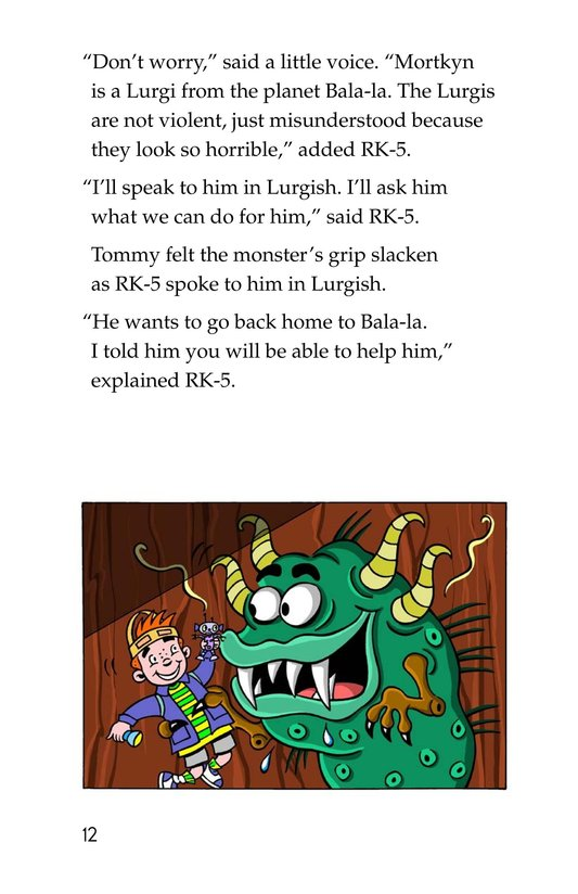Book Preview For Tommy Goes to Mars (Part 2) Page 12