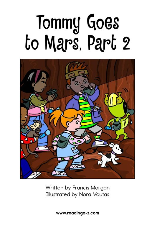 Book Preview For Tommy Goes to Mars (Part 2) Page 2