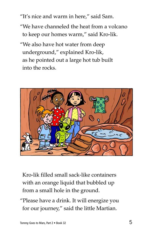 Book Preview For Tommy Goes to Mars (Part 2) Page 5