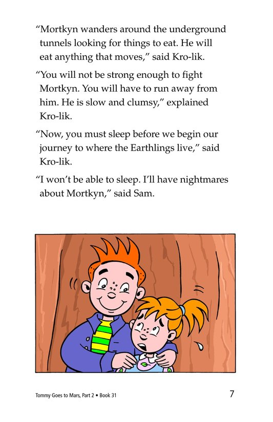 Book Preview For Tommy Goes to Mars (Part 2) Page 7