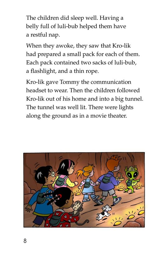 Book Preview For Tommy Goes to Mars (Part 2) Page 8