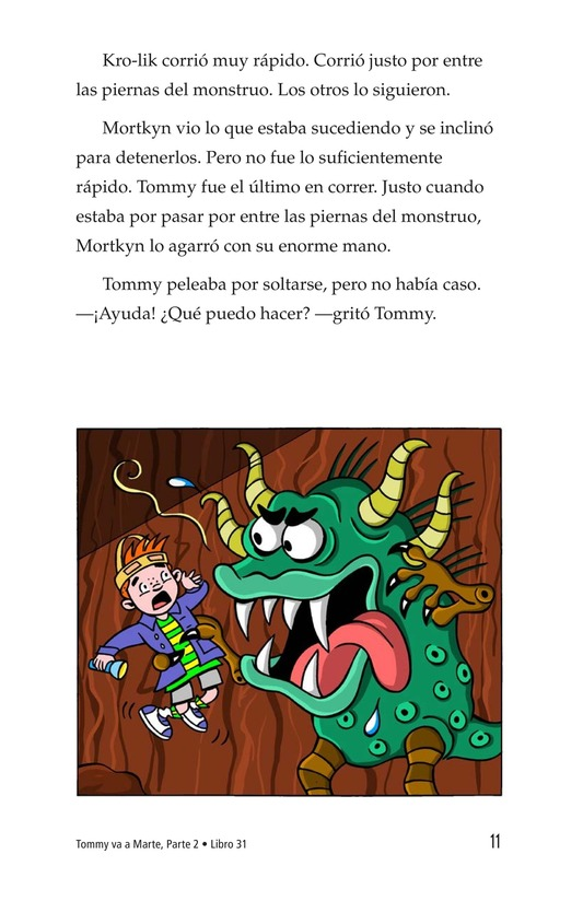 Book Preview For Tommy Goes to Mars (Part 2) Page 11