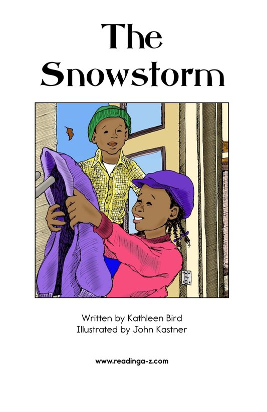 Book Preview For The Snowstorm Page 2