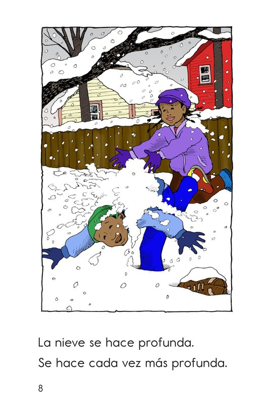 Book Preview For The Snowstorm Page 8