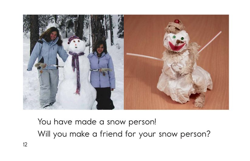 Book Preview For How to Make a Snow Person Page 12