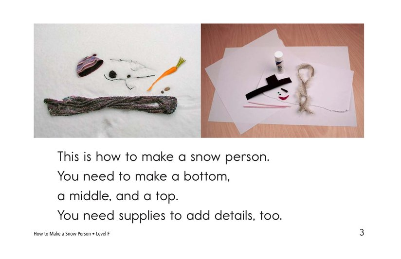 Book Preview For How to Make a Snow Person Page 3