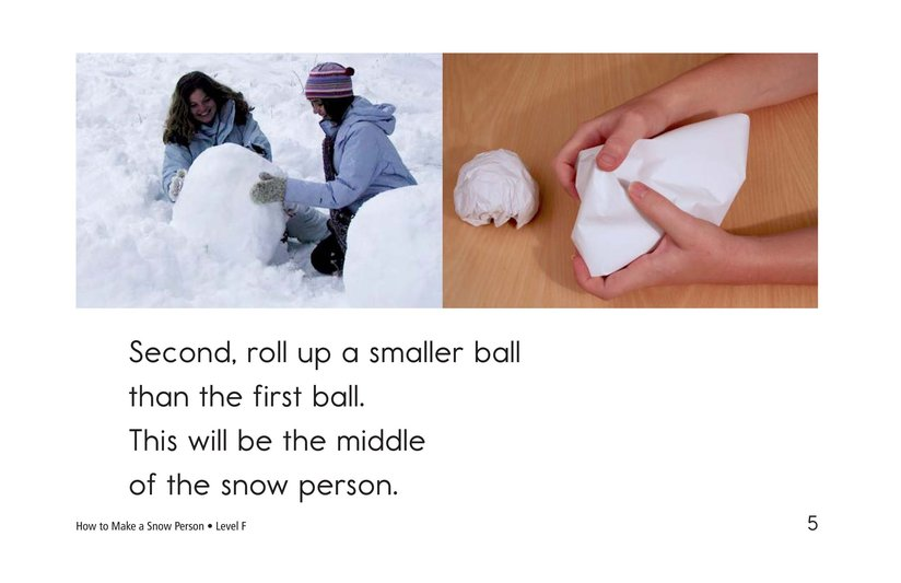 Book Preview For How to Make a Snow Person Page 5
