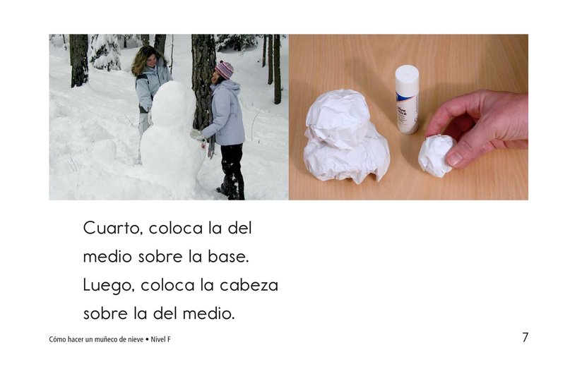 Book Preview For How to Make a Snow Person Page 7