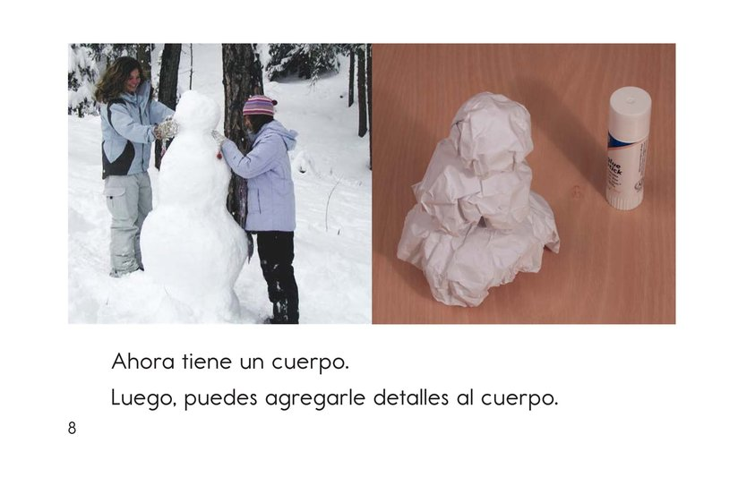 Book Preview For How to Make a Snow Person Page 8