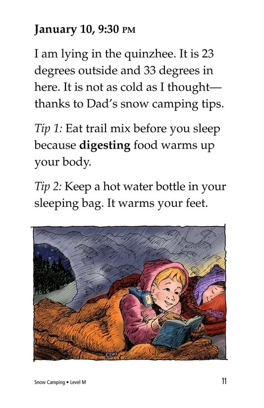 Book Preview For Snow Camping Page 11