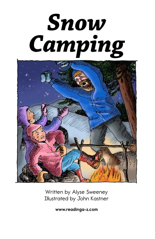 Book Preview For Snow Camping Page 2