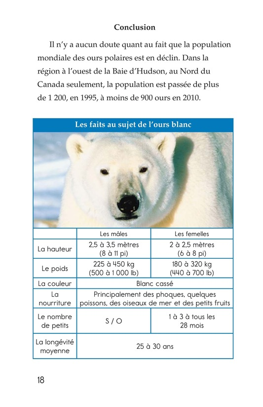 Book Preview For Plight of the Polar Bear Page 18