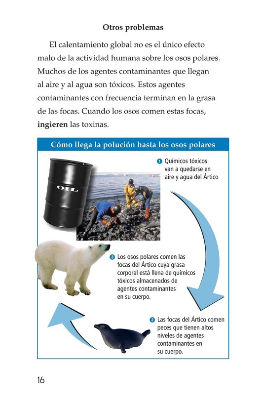 Book Preview For Plight of the Polar Bear Page 16
