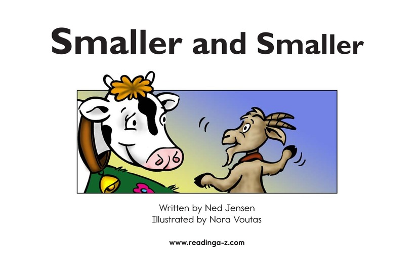 Book Preview For Smaller and Smaller Page 2