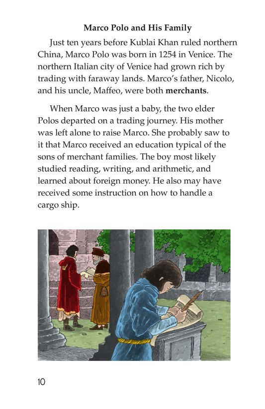 Book Preview For Marco Polo and the Silk Road Page 10