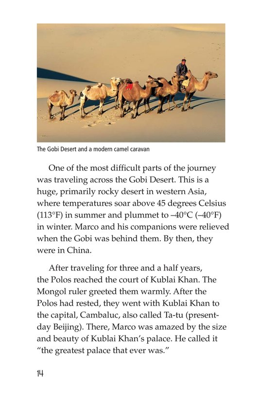 Book Preview For Marco Polo and the Silk Road Page 14