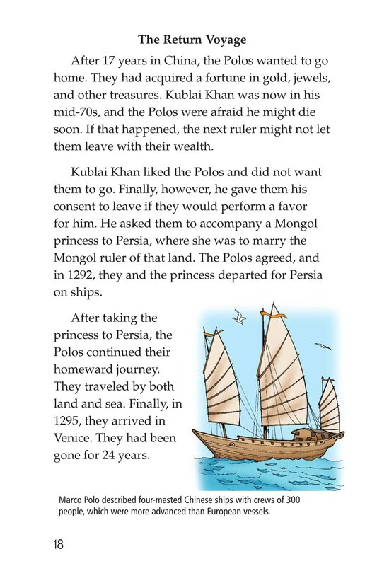 Book Preview For Marco Polo and the Silk Road Page 18