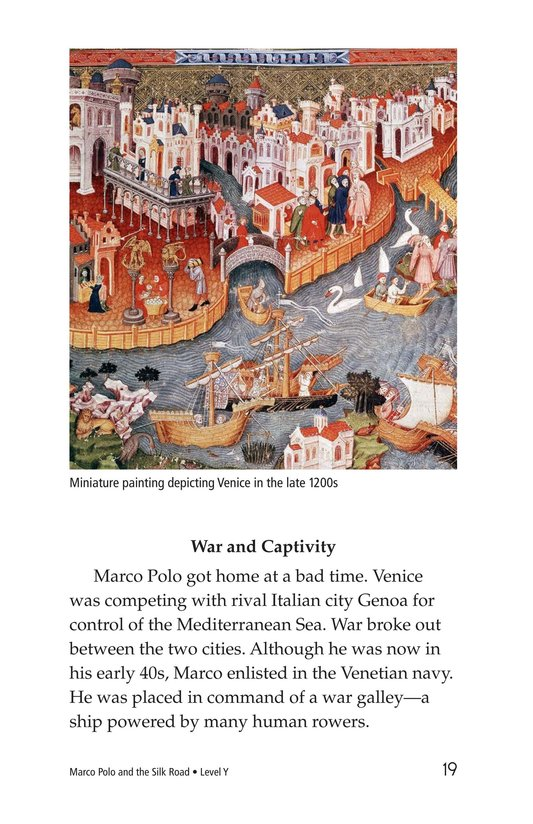 Book Preview For Marco Polo and the Silk Road Page 19