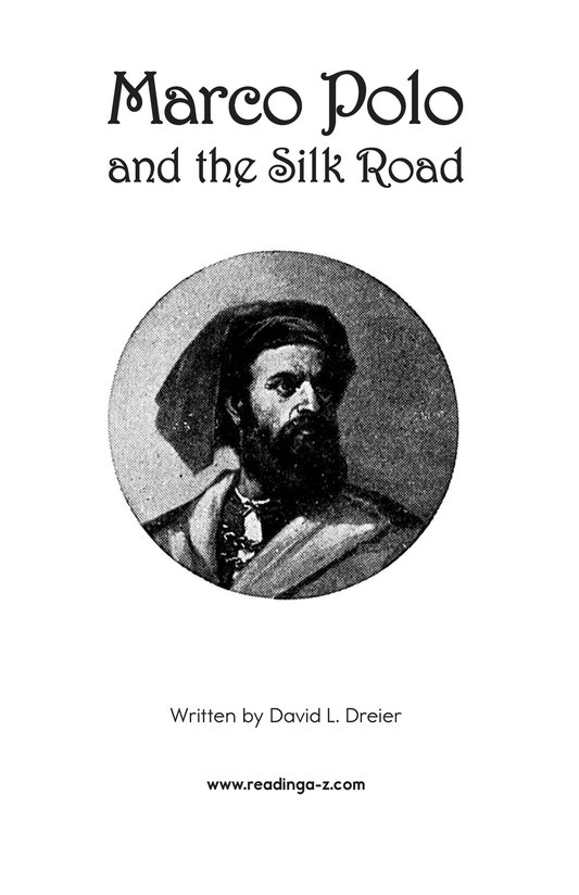 Book Preview For Marco Polo and the Silk Road Page 2