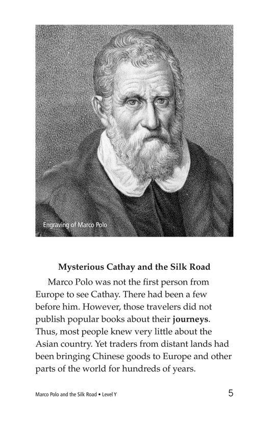 Book Preview For Marco Polo and the Silk Road Page 5