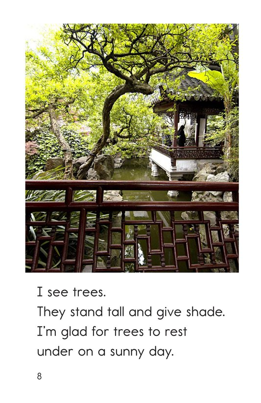 Book Preview For In a Chinese Garden Page 8