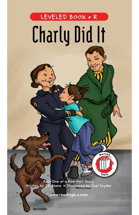Book Preview For Book 1: Charly Did It Page 1